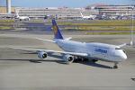 ちゃぽんさんが、羽田空港で撮影したルフトハンザドイツ航空 747-830の航空フォト(飛行機 写真・画像)