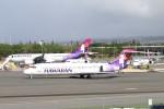 mktさんが、ダニエル・K・イノウエ国際空港で撮影したハワイアン航空 717-22Aの航空フォト(写真)