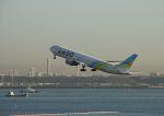 だだちゃ豆さんが、羽田空港で撮影したAIR DO 767-33A/ERの航空フォト(写真)