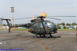 Chofu Spotter Ariaさんが、岡南飛行場で撮影した陸上自衛隊 OH-6Dの航空フォト(飛行機 写真・画像)