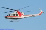 Chofu Spotter Ariaさんが、八尾空港で撮影した朝日航洋 412の航空フォト(飛行機 写真・画像)