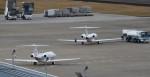 アマツさんが、仙台空港で撮影した国土交通省 航空局 525C Citation CJ4の航空フォト(飛行機 写真・画像)