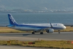 qooさんが、関西国際空港で撮影した全日空 A321-272Nの航空フォト(写真)