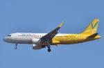 鉄バスさんが、成田国際空港で撮影したバニラエア A320-214の航空フォト(飛行機 写真・画像)