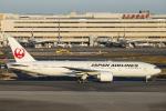 SGR RT 改さんが、羽田空港で撮影した日本航空 777-246/ERの航空フォト(写真)