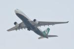 kuro2059さんが、香港国際空港で撮影したエバー航空 A330-203の航空フォト(飛行機 写真・画像)