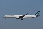 KAZFLYERさんが、成田国際空港で撮影したキャセイパシフィック航空 A350-1041の航空フォト(飛行機 写真・画像)