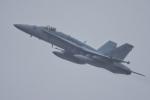 多摩川崎2Kさんが、厚木飛行場で撮影したアメリカ海兵隊 F/A-18D Hornetの航空フォト(写真)