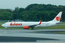 よっしぃさんが、シンガポール・チャンギ国際空港で撮影したライオン・エア 737-9GP/ERの航空フォト(飛行機 写真・画像)
