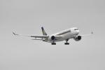 beimax55さんが、羽田空港で撮影したシンガポール航空 A350-941XWBの航空フォト(飛行機 写真・画像)
