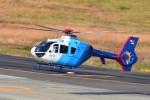 あきらっすさんが、名古屋飛行場で撮影した中日新聞社 EC135P2の航空フォト(飛行機 写真・画像)
