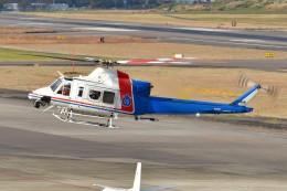 あきらっすさんが、名古屋飛行場で撮影した愛知県防災航空隊 412EPIの航空フォト(写真)