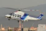 あきらっすさんが、名古屋飛行場で撮影したオールニッポンヘリコプター AW139の航空フォト(飛行機 写真・画像)