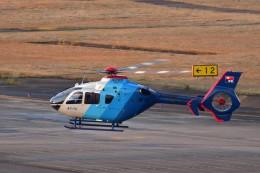 あきらっすさんが、名古屋飛行場で撮影した中日新聞社 EC135P2の航空フォト(写真)