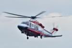 あきらっすさんが、大磯港で撮影した横浜市消防航空隊 AW139の航空フォト(飛行機 写真・画像)