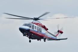 あきらっすさんが、大磯港で撮影した横浜市消防航空隊 AW139の航空フォト(写真)