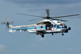 あきらっすさんが、横浜港で撮影した海上保安庁 EC225LP Super Puma Mk2+の航空フォト(写真)