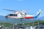 あきらっすさんが、双葉滑空場で撮影した山梨県防災航空隊 S-76Dの航空フォト(飛行機 写真・画像)
