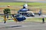 あきらっすさんが、双葉滑空場で撮影したジャネット 206B JetRanger IIIの航空フォト(飛行機 写真・画像)