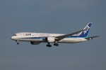 KAZFLYERさんが、成田国際空港で撮影した全日空 787-9の航空フォト(飛行機 写真・画像)