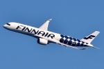 SKY TEAM B-6053さんが、中部国際空港で撮影したフィンエアー A350-941XWBの航空フォト(写真)