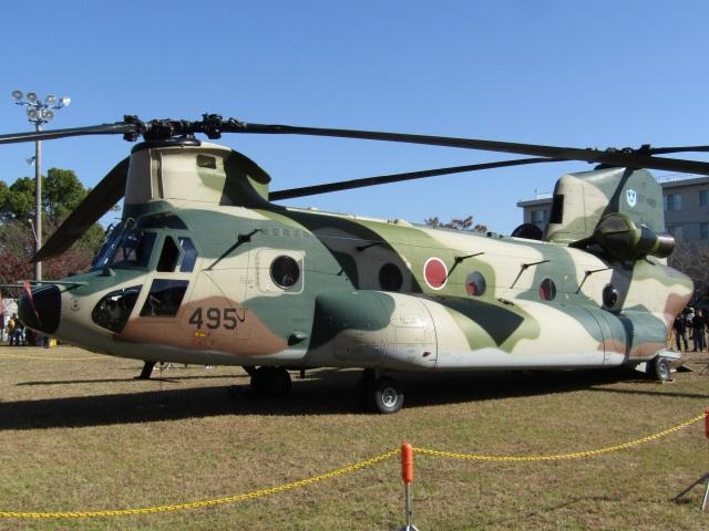 commet7575さんが、春日基地で撮影した航空自衛隊 CH-47J/LRの航空フォト(飛行機 写真・画像)