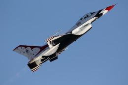atskikuさんが、ネリス空軍基地で撮影したロッキード・マーティン F-16 Fighting Falconの航空フォト(飛行機 写真・画像)