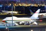 よっしぃさんが、羽田空港で撮影したオマーン・ロイヤル・フライト 747SP-27の航空フォト(写真)