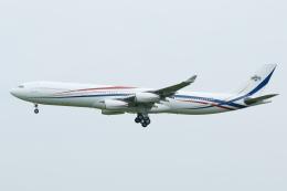 よっしぃさんが、成田国際空港で撮影したスワジランド政府 A340-313の航空フォト(飛行機 写真・画像)