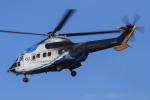 西風さんが、大館能代空港で撮影した中日本航空 AS332L Super Pumaの航空フォト(写真)