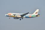 ポン太さんが、スワンナプーム国際空港で撮影したバンコクエアウェイズ A320-232の航空フォト(写真)