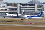yabyanさんが、伊丹空港で撮影したANAウイングス DHC-8-402Q Dash 8の航空フォト(飛行機 写真・画像)