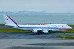 よっしぃさんが、羽田空港で撮影した大韓民国空軍 747-4B5の航空フォト(飛行機 写真・画像)