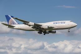 Y-Kenzoさんが、成田国際空港で撮影したユナイテッド航空 747-451の航空フォト(飛行機 写真・画像)