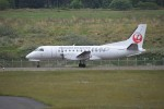 kumagorouさんが、利尻空港で撮影した北海道エアシステム 340B/Plusの航空フォト(飛行機 写真・画像)
