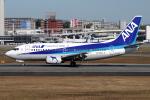 yabyanさんが、伊丹空港で撮影したANAウイングス 737-54Kの航空フォト(飛行機 写真・画像)