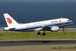 yabyanさんが、中部国際空港で撮影した中国国際航空 A319-115の航空フォト(飛行機 写真・画像)