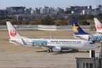 ゆなりあさんが、福岡空港で撮影した日本トランスオーシャン航空 737-8Q3の航空フォト(飛行機 写真・画像)