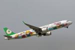 菊池 正人さんが、那覇空港で撮影したエバー航空 A321-211の航空フォト(写真)