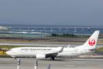 菊池 正人さんが、那覇空港で撮影した日本トランスオーシャン航空 737-8Q3の航空フォト(写真)