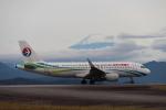 100分の1の飛旅人さんが、静岡空港で撮影した中国東方航空 A320-214の航空フォト(飛行機 写真・画像)