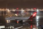 ツンさんが、羽田空港で撮影したカンタス航空 747-438/ERの航空フォト(写真)