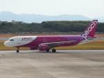 FT51ANさんが、長崎空港で撮影したピーチ A320-214の航空フォト(飛行機 写真・画像)