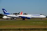 tassさんが、成田国際空港で撮影したフィンエアー A340-313Xの航空フォト(飛行機 写真・画像)