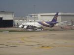 RUNWAY24さんが、ドンムアン空港で撮影したタイ国際航空 A340-541の航空フォト(飛行機 写真・画像)