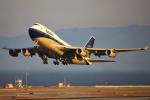 masa707さんが、サンフランシスコ国際空港で撮影したブリティッシュ・エアウェイズ 747-436の航空フォト(飛行機 写真・画像)