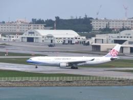 aquaさんが、那覇空港で撮影したチャイナエアライン A330-302の航空フォト(飛行機 写真・画像)