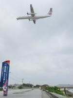 aquaさんが、那覇空港で撮影した琉球エアーコミューター DHC-8-402Q Dash 8 Combiの航空フォト(飛行機 写真・画像)