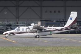 Hii82さんが、八尾空港で撮影したアジア航測 695 Jetprop 980の航空フォト(飛行機 写真・画像)