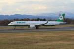 marariaさんが、青森空港で撮影したエバー航空 A321-211の航空フォト(飛行機 写真・画像)